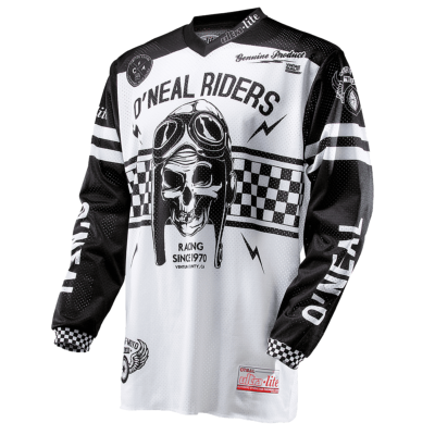 ONEAL-Jersey ULTRA LITE le 70 Noir/Blanc