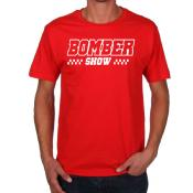 BOMBER SHOW-T-Shirt Red Race