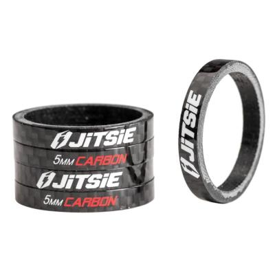 JITSIE-Entretoise Jeu Direction 5MM Carbon