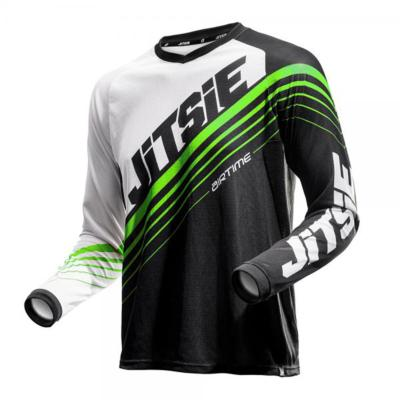 JITSIE-Maillot AIRTIME 2 Noir/Vert fluo Taille M